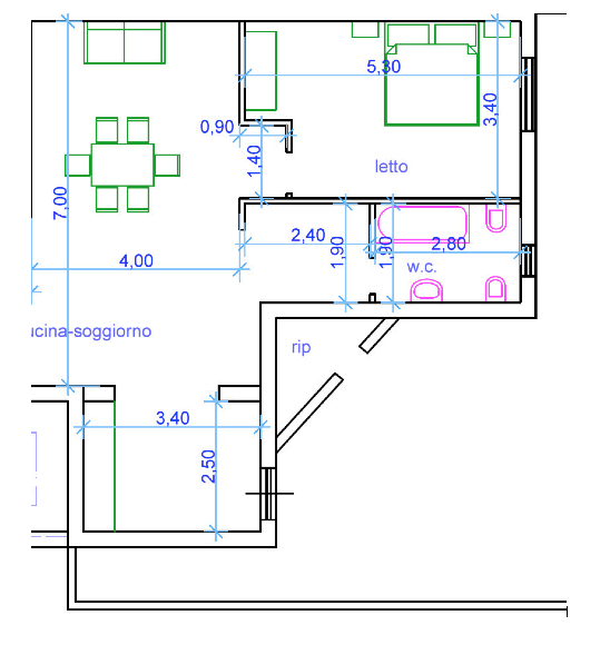Gli Appartamenti - Il Mulino del Capo